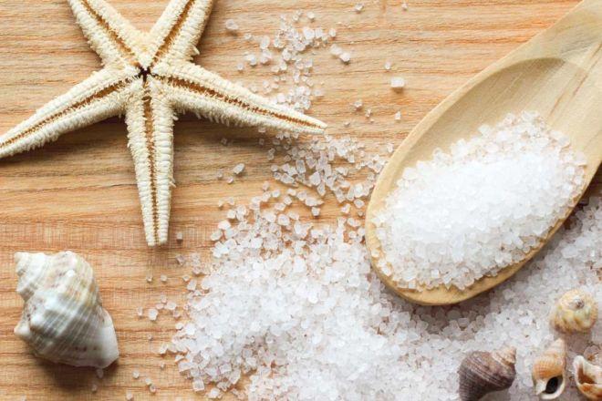 Морская соль для ванночек