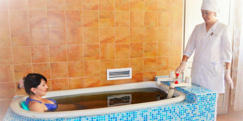 лечение сероводородными ваннами