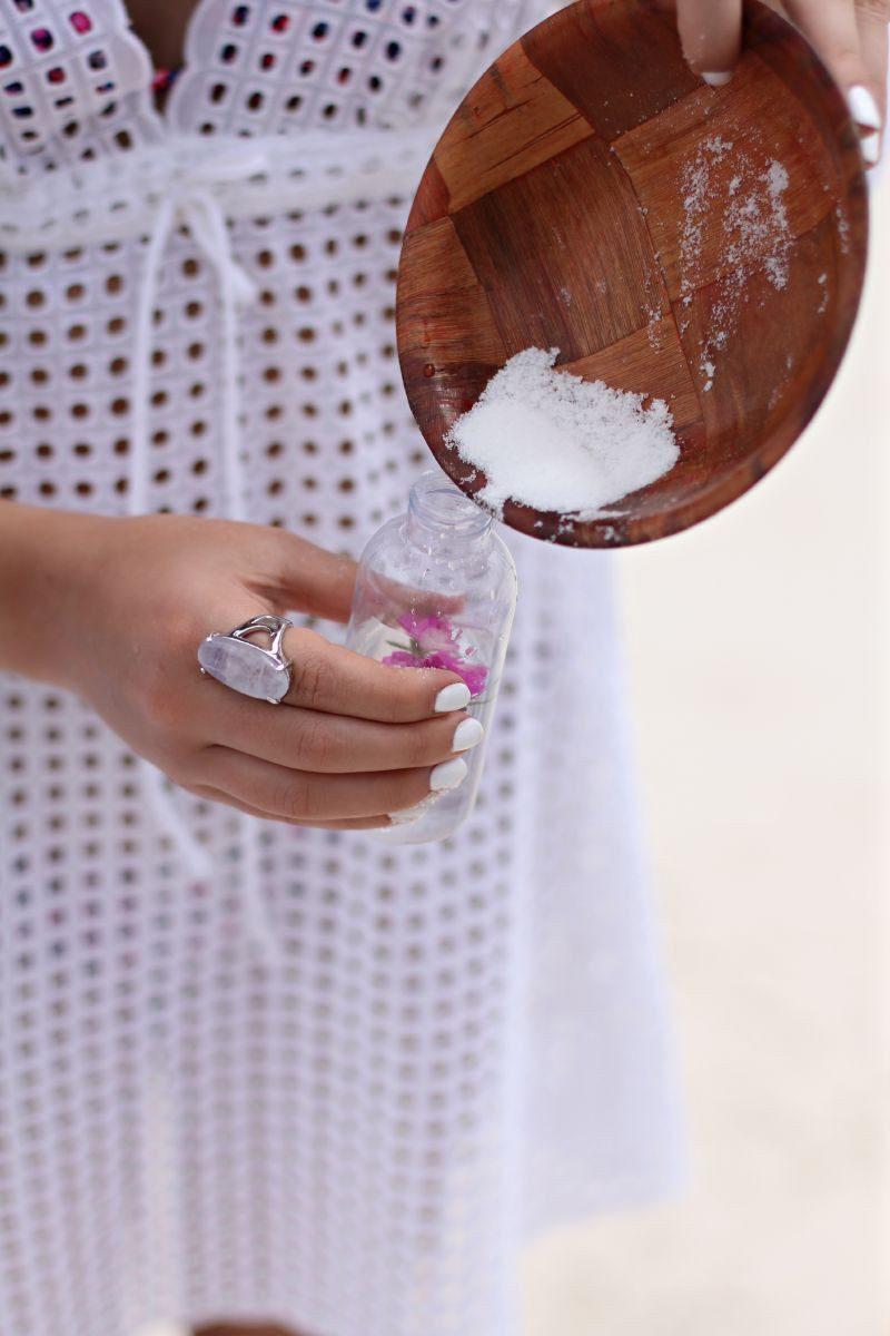 морская соль в лечении