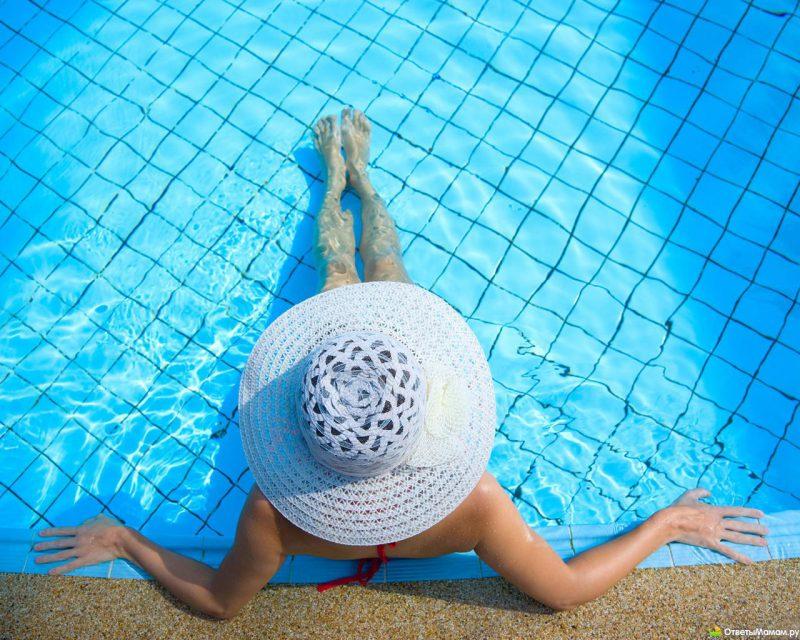 оздоровление в бассейне