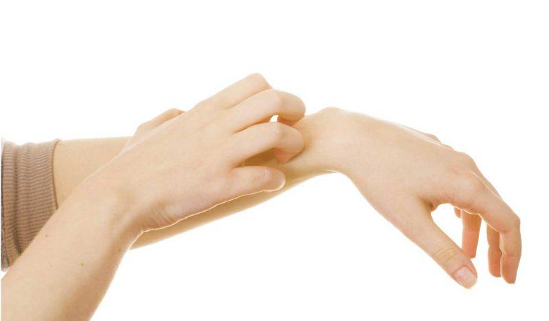 противопоказания - сухость кожи