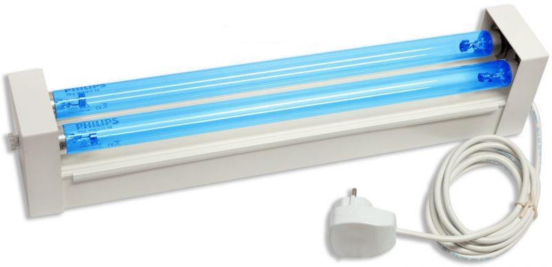 виды ультрафиолетовых ламп