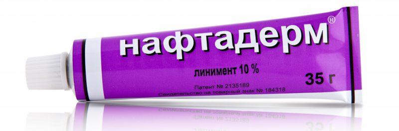 Как помогает Нафтадерм от псориаза. Отзывы специалистов и больных