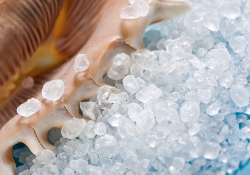 Соли и минералы мертвого моря