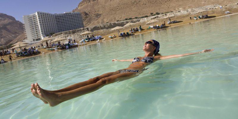 воздух на мертвом море