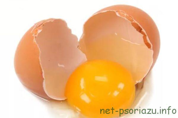 Яичная мазь от псориаза