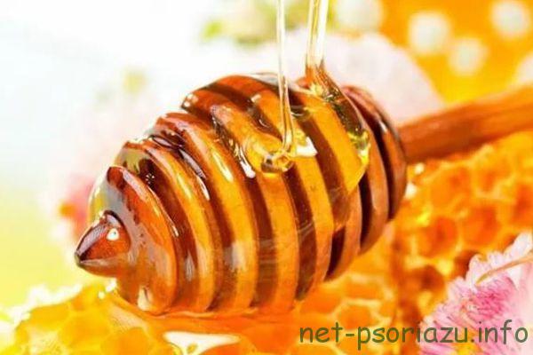 Мед для лечения чешуйчатого лишая