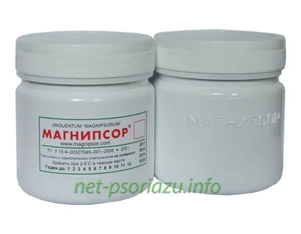 Магнипсор на основе солидола от псориаза