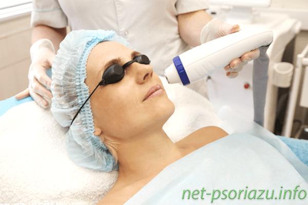Физиотерапия при псориазе