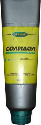 Жировой солидол для лечения псориаза