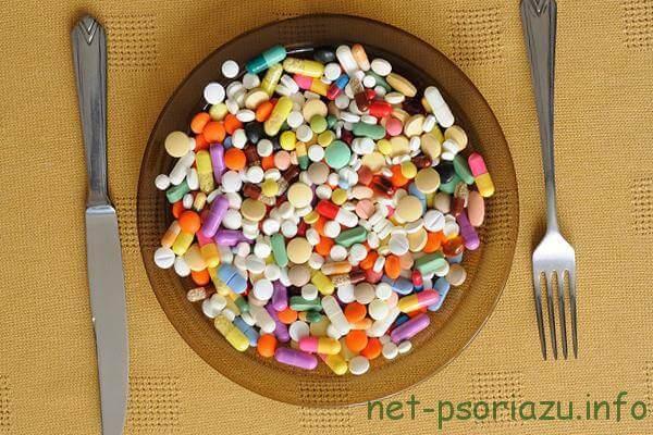 Виды препаратов при чешуйчатом лишае