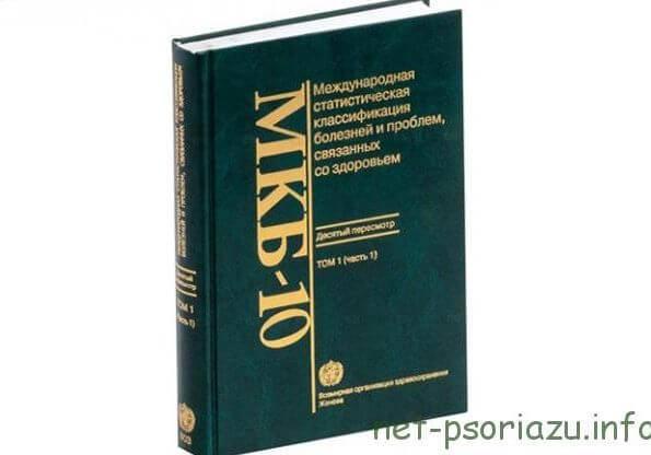 Псориаз МКБ - 10: классификация болезни по коду