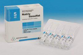 «Натрия тиосульфат»: эффективное очищение организма